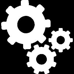 icona rotelle ingranaggi